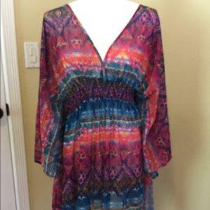 Jessica Simpson Kimono Style Coverup Size 0X